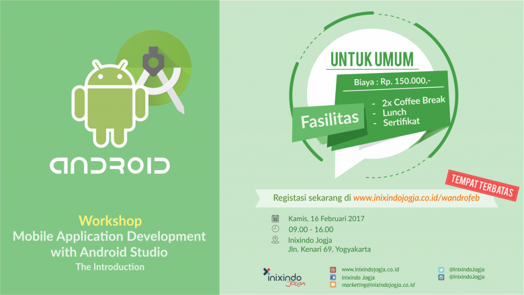 Workshop Mobile Application Diminati Banyak Pelaku IT 1