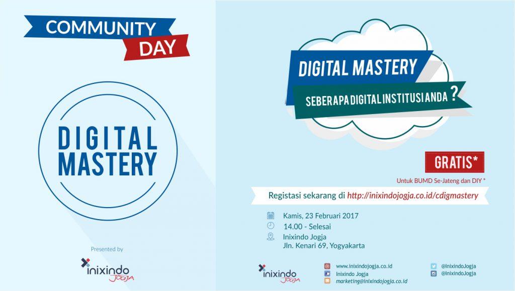 Community Day Digital Mastery, Membuka Wawasan Tentang Transformasi Digital 1