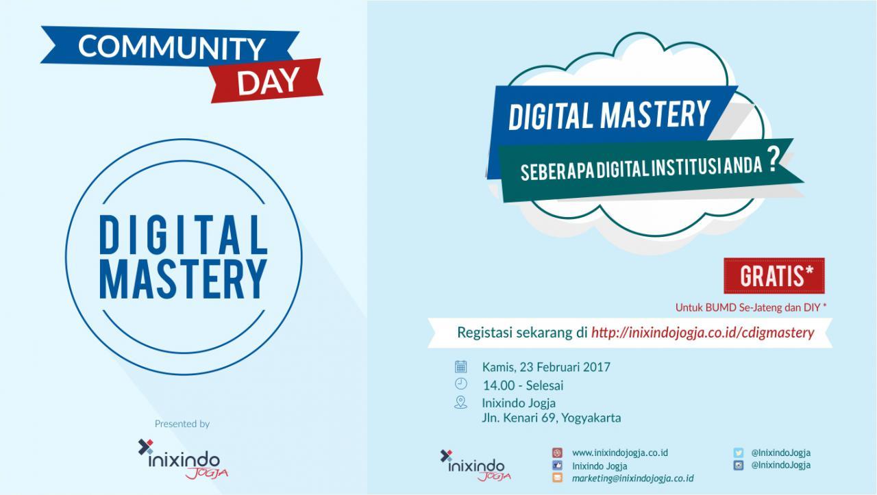 Digital Mastery : Seberapa Digital Institusi Anda? 1