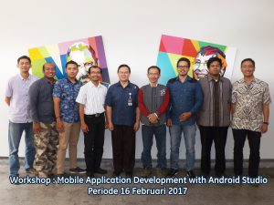 Workshop Mobile Application Diminati Banyak Pelaku IT 3