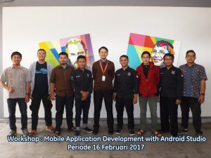 Workshop Mobile Application Diminati Banyak Pelaku IT 2