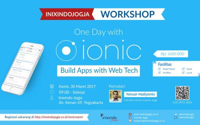 Workshop : ONE DAY WITH IONIC