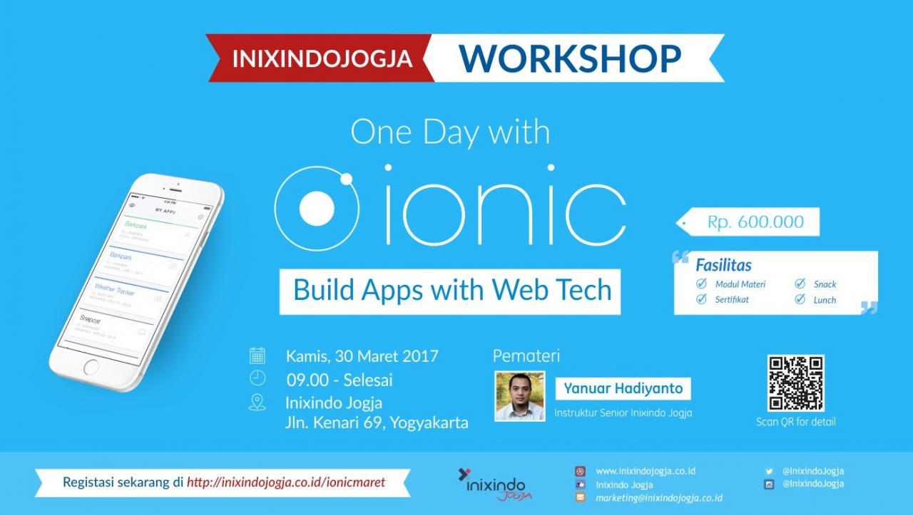Workshop : ONE DAY WITH IONIC 1