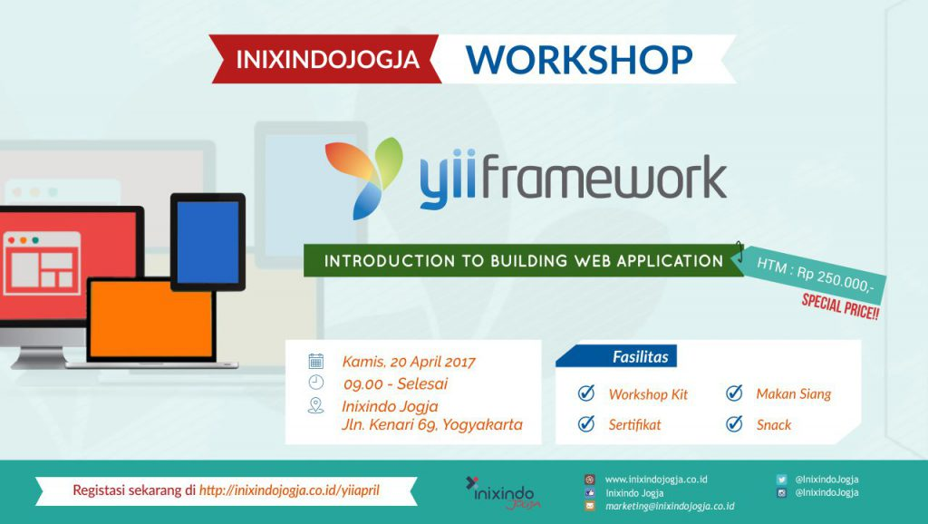 Workshop Sehari : Yii Framework Version 2 1