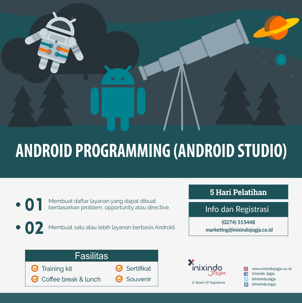 Android Mobile App Development with Android Studio