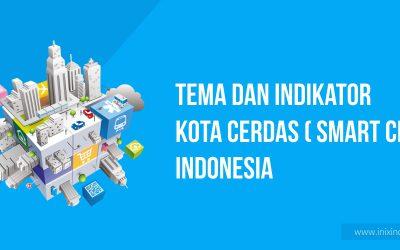 Tema dan Indikator Kota Cerdas (Smart City) di Indonesia