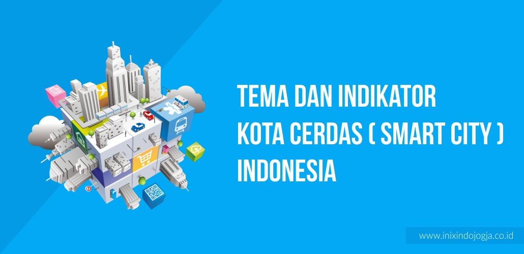 Tema dan Indikator Kota Cerdas (Smart City) di Indonesia 1