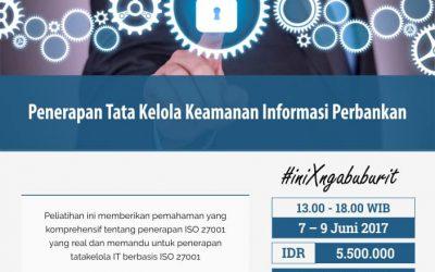 Penerapan Tata Kelola Keamanan Informasi Perbankan