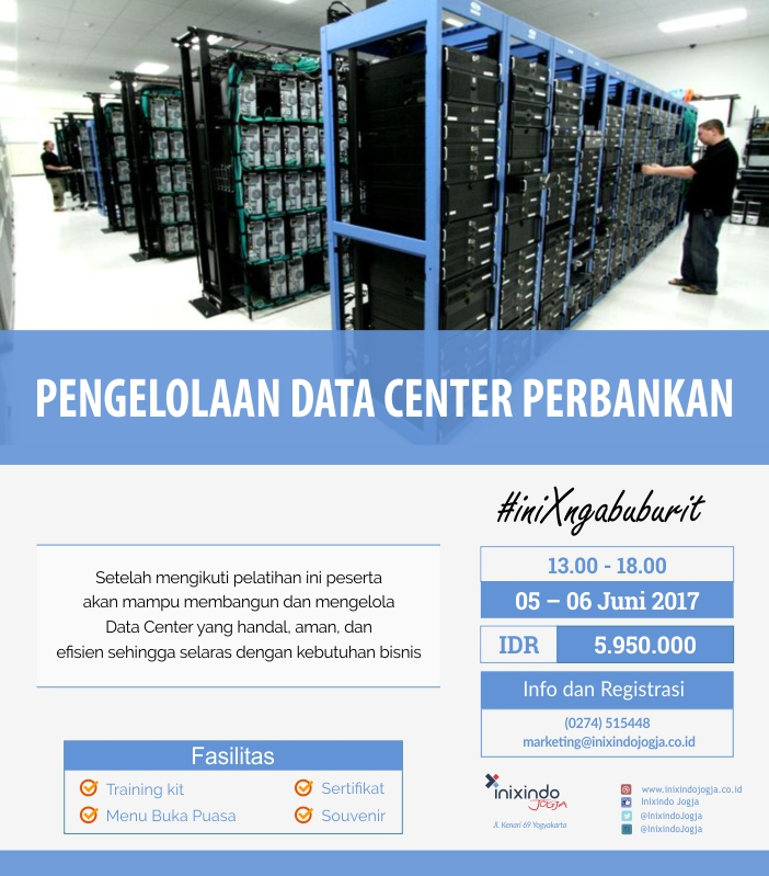 iniXngabuburit : Pengelolaan Data Center Perbankan 6