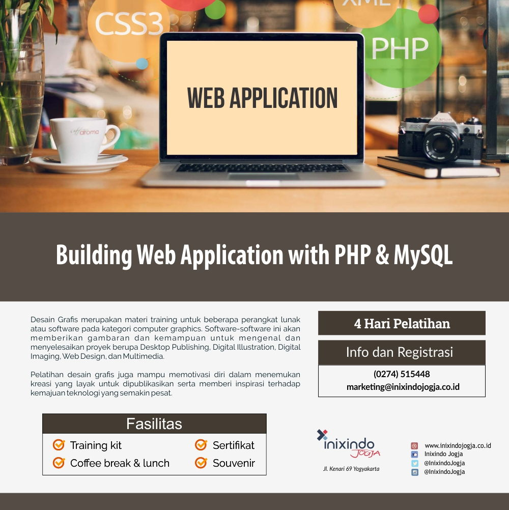 Building Web Application with PHP & My SQL 6