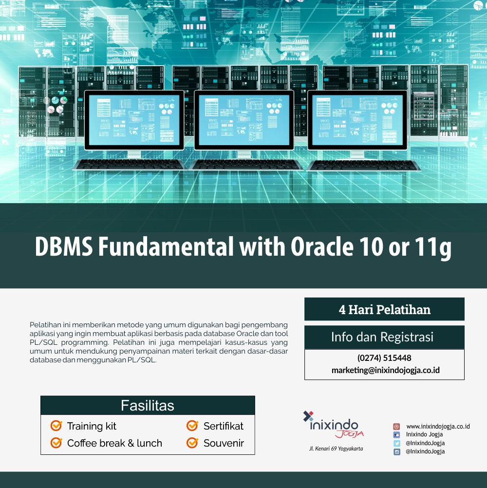 DBMS Administration 1 with Oracle 10g or 11g 6