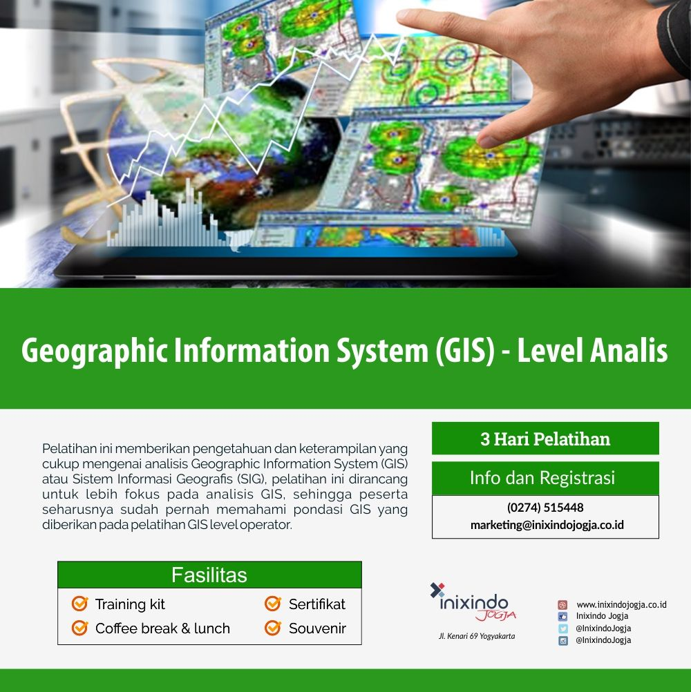 Geographic Information System (GIS) – Level Analis 6