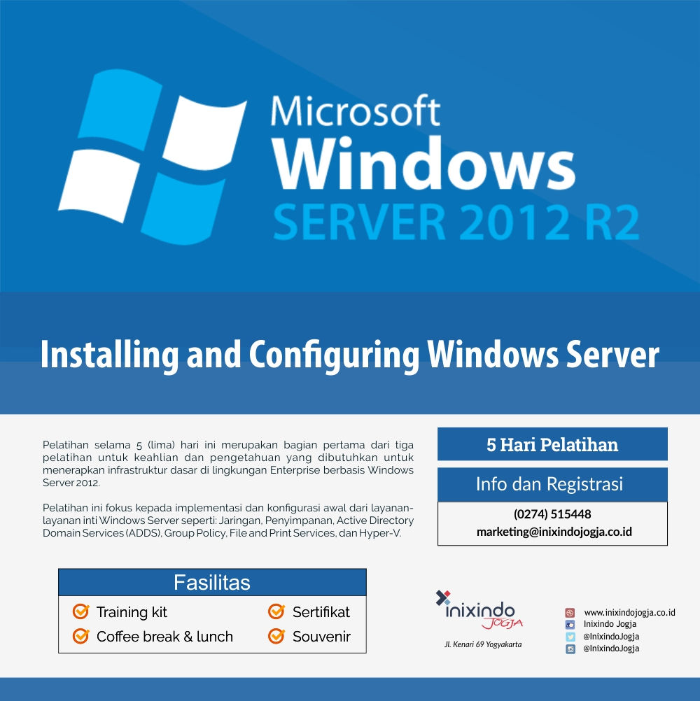 Installing and Configuring Windows Server 7