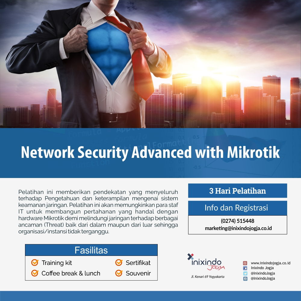 Network Security Advanced with Mikrotik 6