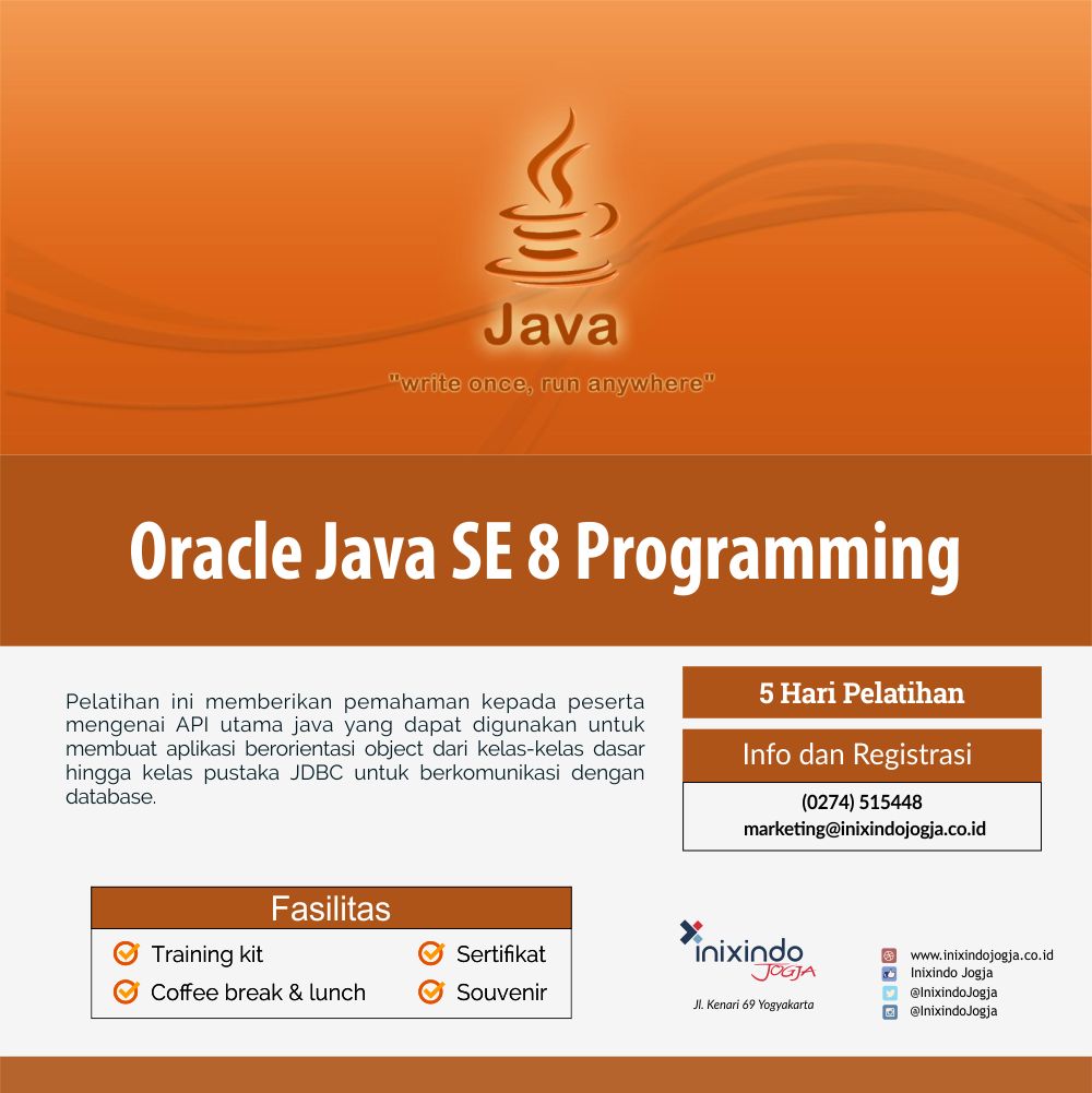 Oracle Java SE 8 Programming 6