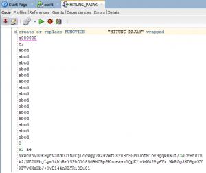 Hacking Fitur Wrap di Oracle PL/SQL 22