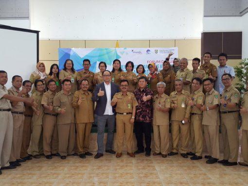 Diskusi Bersama Persiapan Implementasi E-Government Dinas Kominfo Se-Kalimantan Tengah