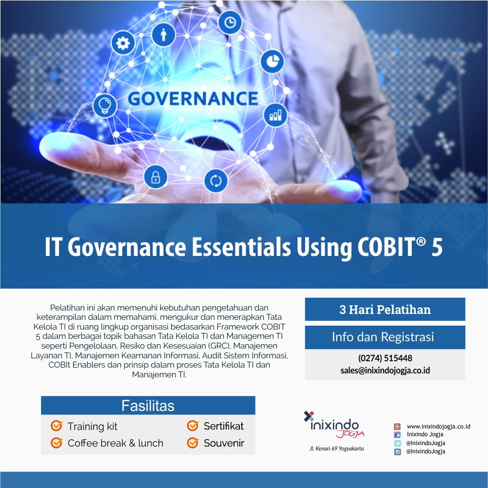 IT Governance Essentials Using COBIT® 5 6