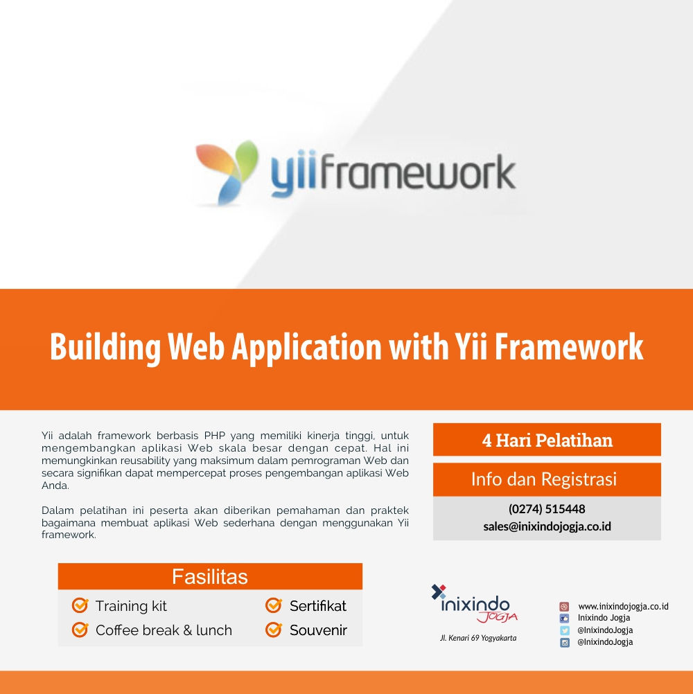 Building Web Application with Yii Framework 6