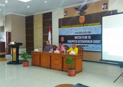 Focus Group Discussion: Master Plan TIK Kabupaten Kotawaringin Barat