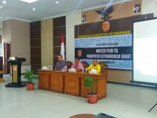 Focus Group Discussion: Master Plan TIK Kabupaten Kotawaringin Barat