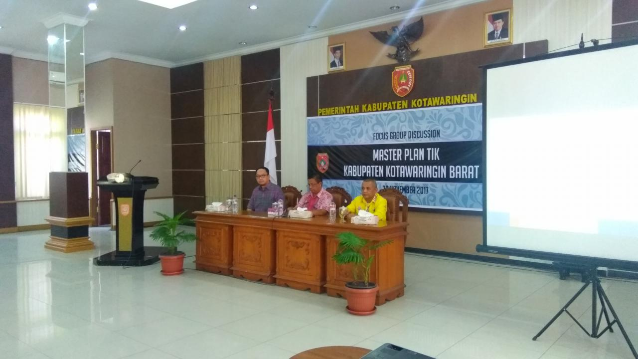 Focus Group Discussion: Master Plan TIK Kabupaten Kotawaringin Barat 1