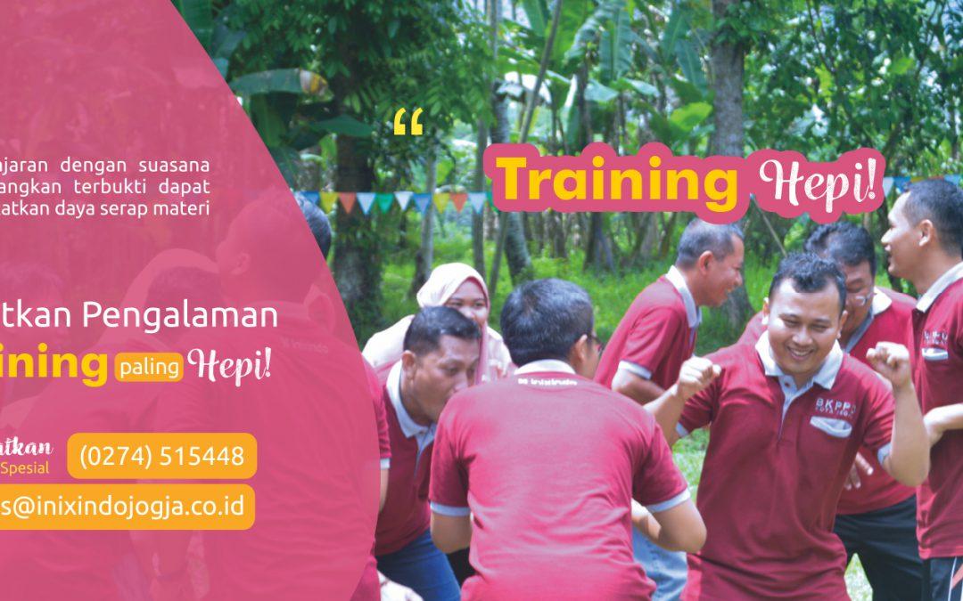 Training Hepi – Have Fun Saat Pelatihan Itu Penting