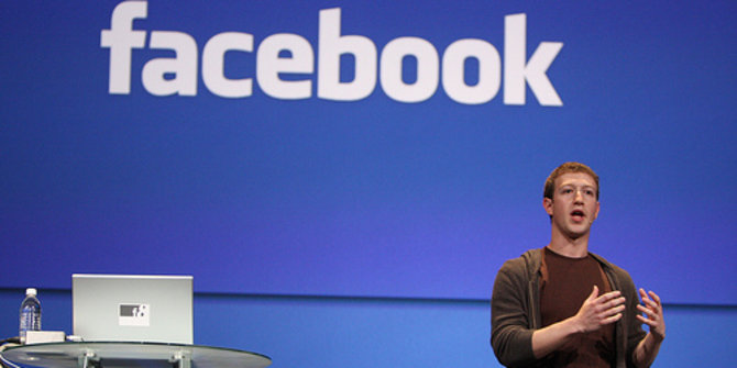 CEO Facebook, Mark Zuckerberg Melawan Hoax 1