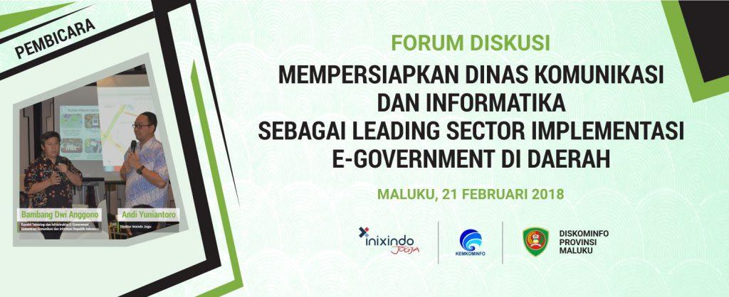 forum diskusi maluku