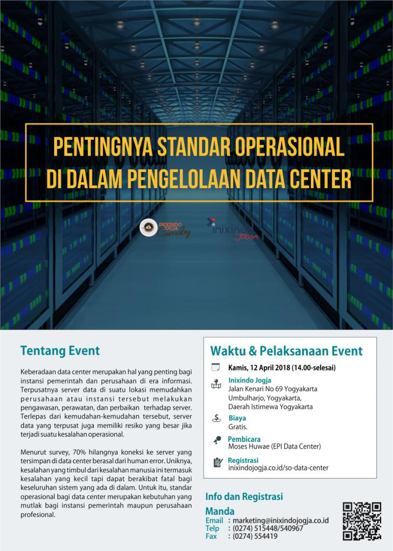 [Community Day] Pentingnya Standar Operasional di Dalam Pengelolaan Data Center 2
