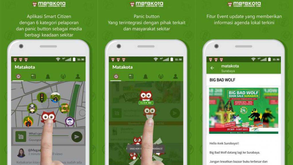 Matakota: Aplikasi Smart City dari Surabaya 1