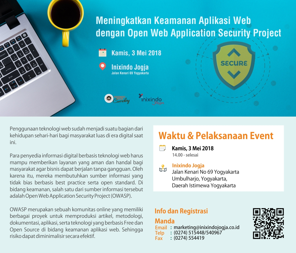 [Community Day] Meningkatkan Keamanan Aplikasi Web dengan Open Web Application Security Project 2
