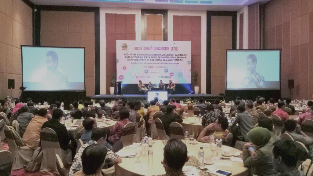 FGD Sinkronisasi Infrastruktur , Jaringan, Dan Integrasi Data SKPD Provinsi Jawa Tengah 1