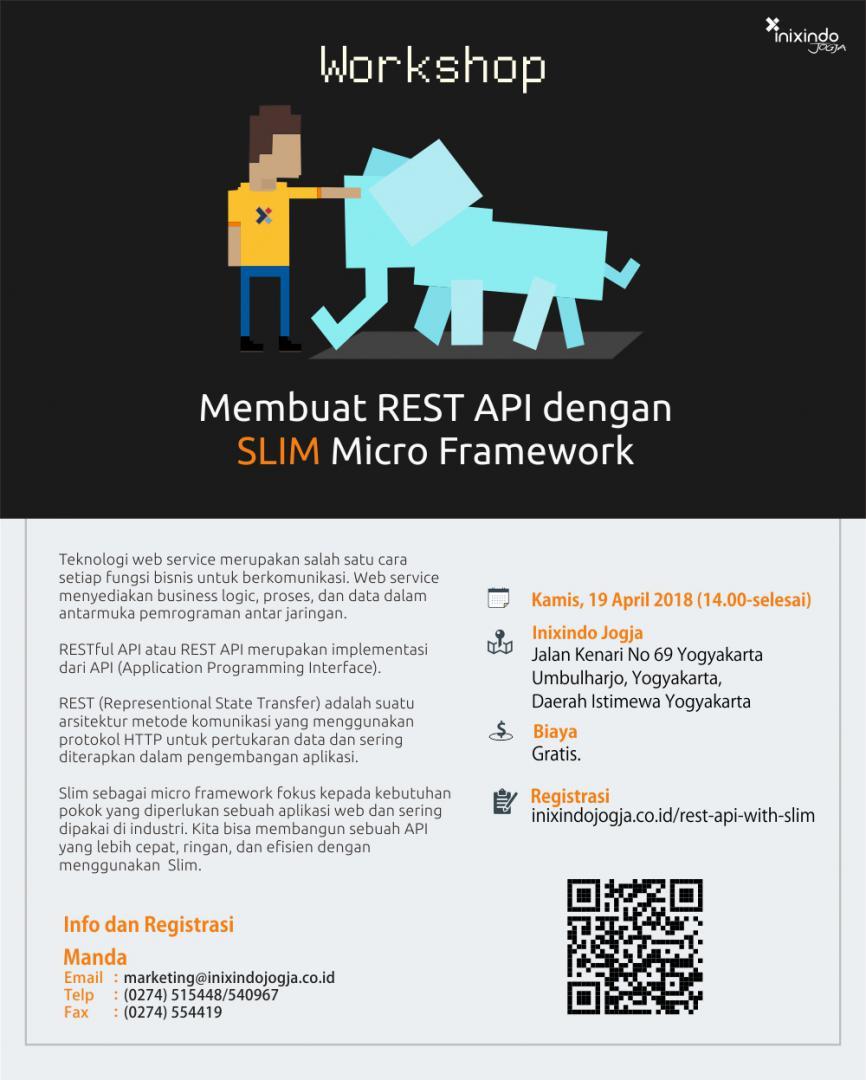 [Workshop] Membuat REST API dengan SLIM Micro Framework 2