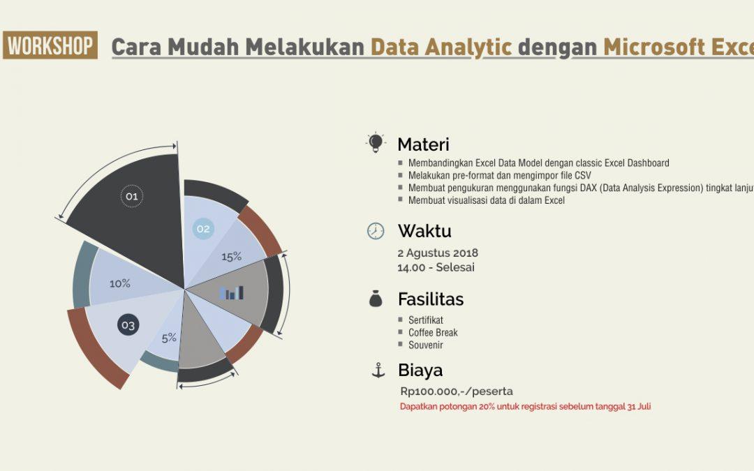 Cara Mudah Melakukan Data Analytics Dengan Microsoft Excel