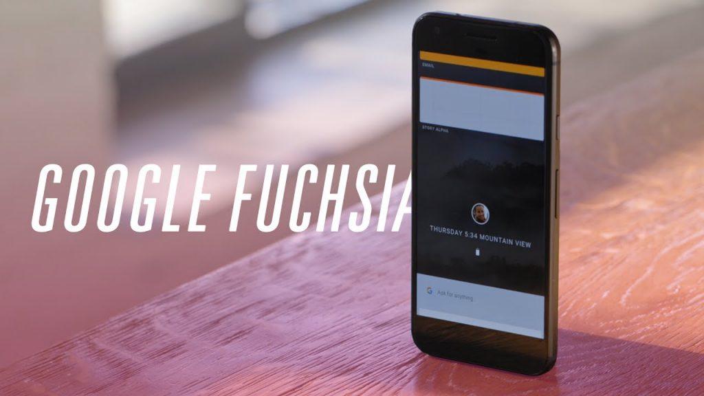 Fuchsia OS : Sistem Operasi yang Mungkin akan Menggantikan Android dan Chrome OS 1