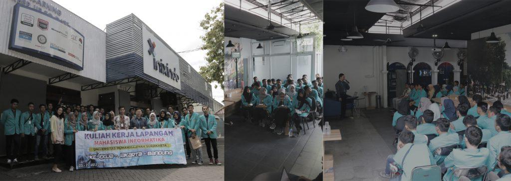 Company Visit Beberapa Universitas ke Inixindo Jogja 2