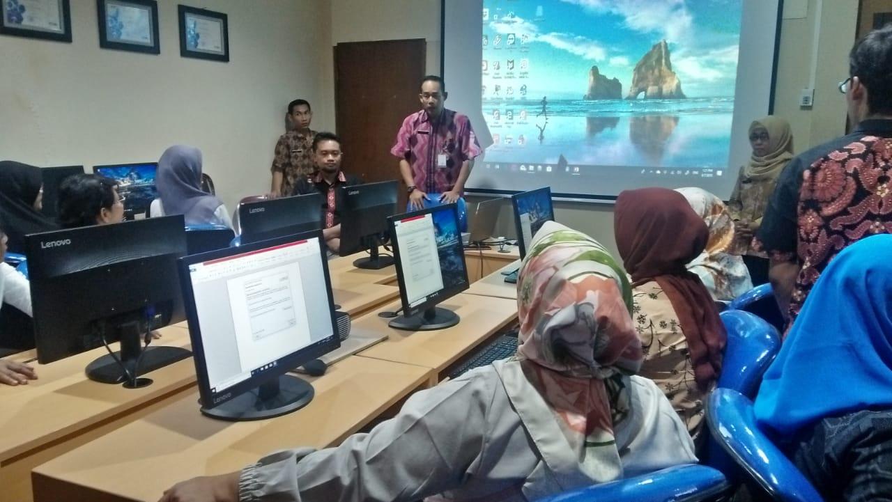 Pelatihan CMS dan Teknologi Informasi Dinas Komunikasi, Informasi, dan Statistika Kota Magelang 1