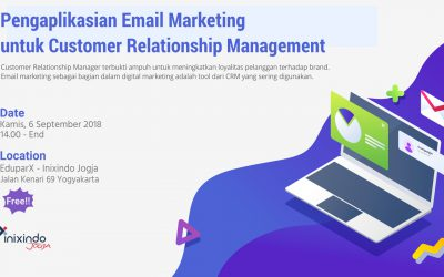 Pengaplikasian Email Marketing Untuk Customer Relationship Management