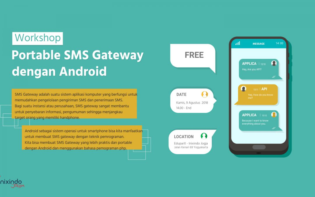 Workshop SMS Portable Gateway Dengan Android
