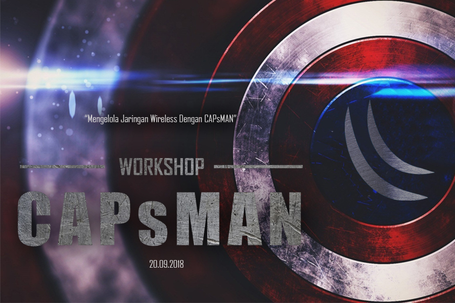 "Workshop ""Mengelola Jaringan Wireless dengan CAPsMAN"" 1"