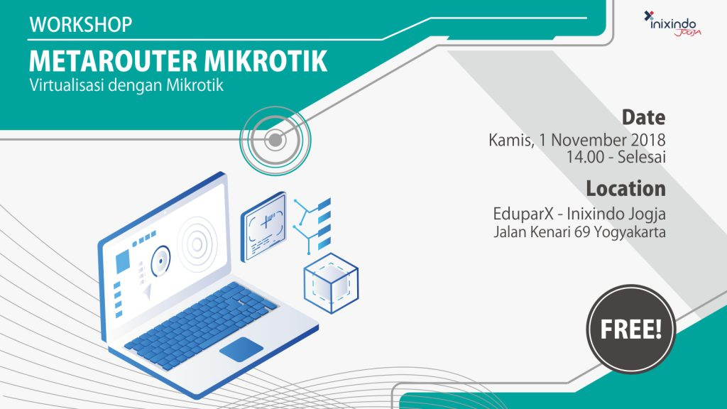Workshop MetaROUTER Mikrotik - Virtualisasi dengan Mikrotik 1