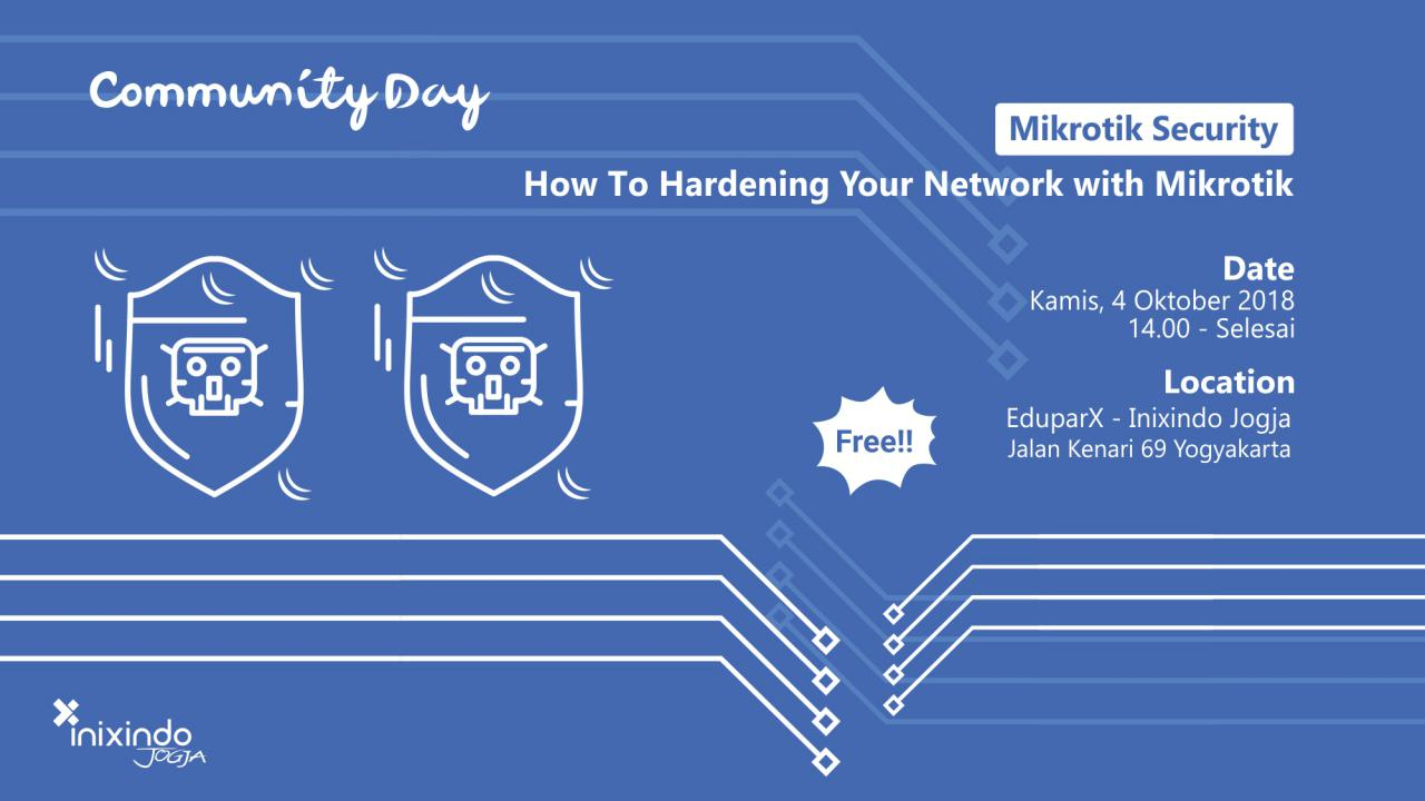 Mikrotik Security : How to hardening Your Network with Mikrotik 1
