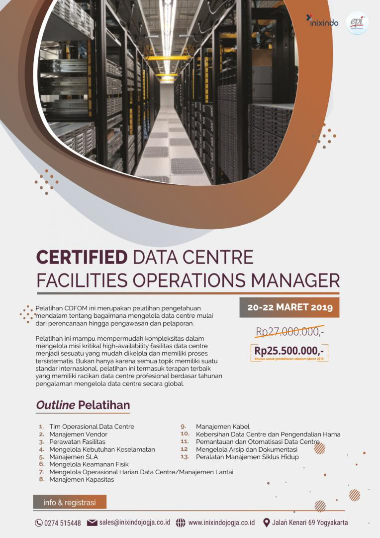 Certified Data Centre Facilities Operations Manager 6