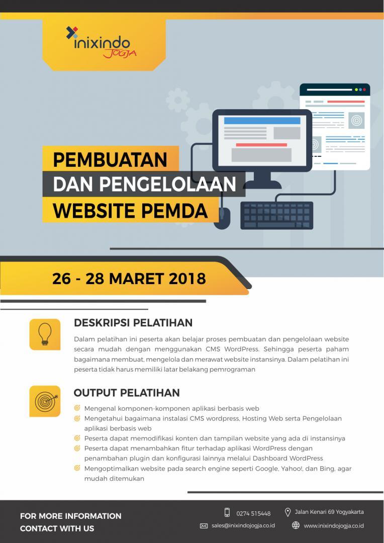 Pembuatan dan Pengelolaan Website Pemda 6