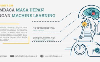 #Comday : Membaca Masa Depan Dengan Machine Learning