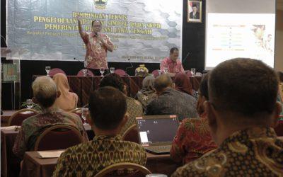 Bimbingan Teknis Pengelolaan Simpeg Pada SKPD Pemerintah Provinsi Jawa Tengah