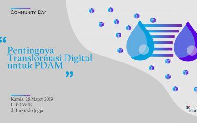 #Comday – Pentingnya Digital Transformasi untuk PDAM