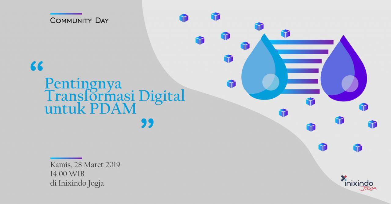 #Comday - Pentingnya Digital Transformasi untuk PDAM 1