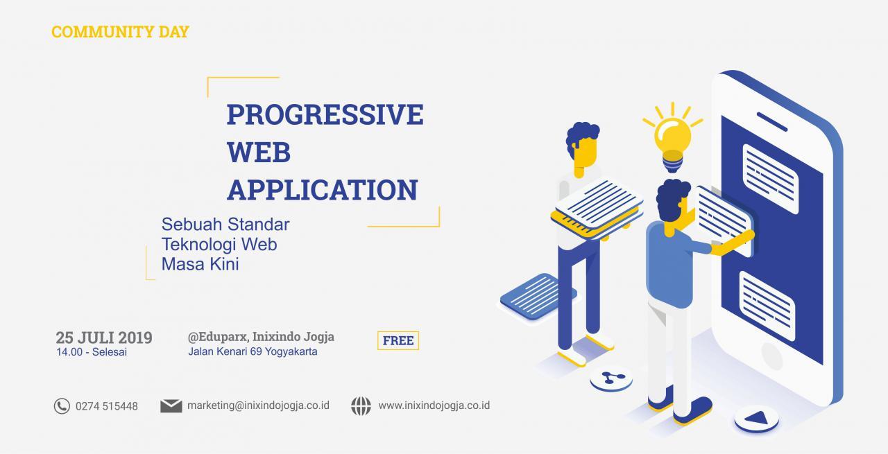 #Comday Progressive Web Apps (PWA) – Sebuah Standar Teknologi Web Masa Kini